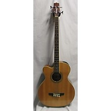 Takamine EGB255SC Left Handed Acoustic Electric Acoustic Bass Guitar
