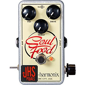 jhs pedals ehx soul food meat 3 mod guitar effects pedal guitar center. Black Bedroom Furniture Sets. Home Design Ideas