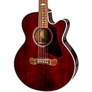 EJ-200 Coupe Acoustic-Electric Guitar Wine Red