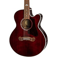 EJ-200SCE Coupe Acoustic-Electric Guitar Wine Red