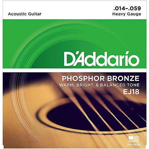 D'Addario EJ18 PB Heavy Acoustic Guitar Strings Set