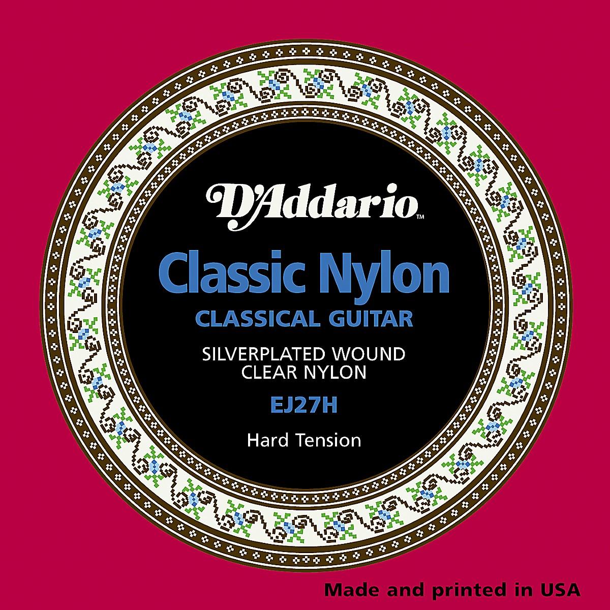 D'Addario EJ27H Classical Guitar Strings Hard Tension