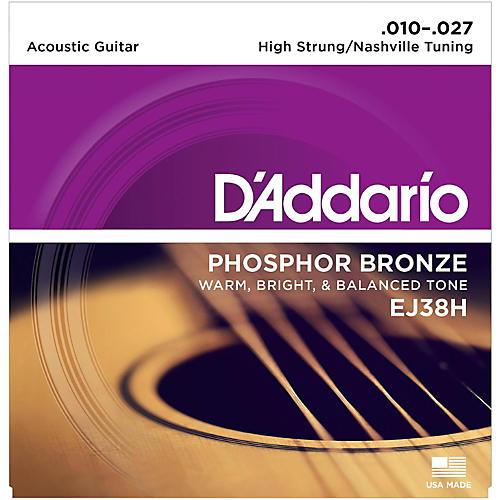 D'Addario EJ38H High Strung/Nashville Tuning 10-27 Acoustic Guitar Strings