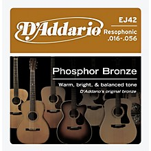 D'Addario EJ42 PB Resophonic String Set