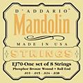 D'Addario EJ70 Phosphor Bronze Ball End Mandolin Strings thumbnail