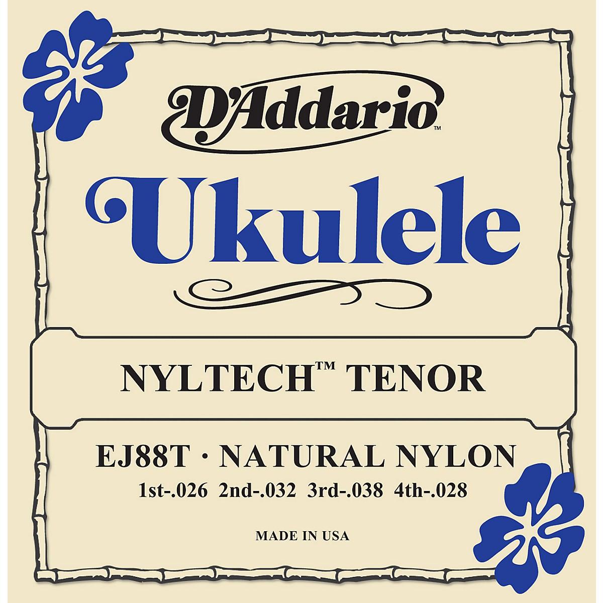 D'Addario EJ88T Nyltech Tenor Ukulele Strings