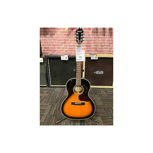 used epiphone el00 pro acoustic electric guitar natural guitar center. Black Bedroom Furniture Sets. Home Design Ideas