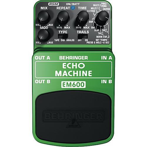 Behringer EM600 Echo Machine Echo Modeling Effects Pedal