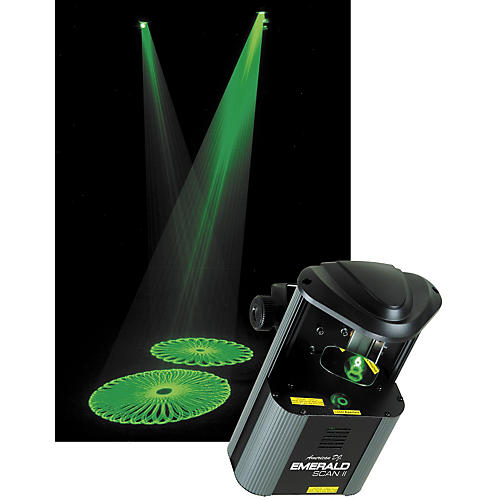 American DJ EMERALD SCAN II Green Laser Scanner