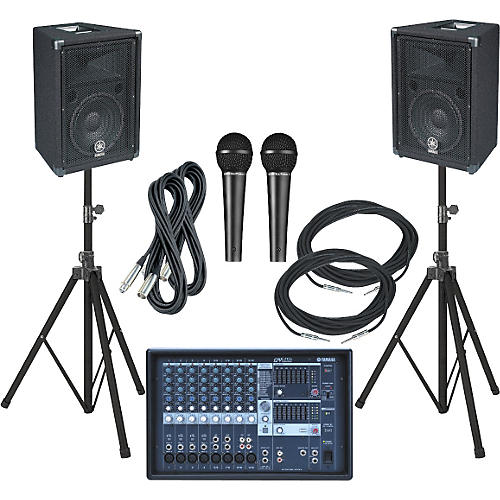 Yamaha EMX212S-BR10 PA Package