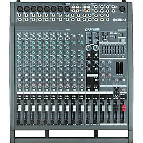 yamaha emx5000 12 12 channel 1000w powered mixer guitar center. Black Bedroom Furniture Sets. Home Design Ideas
