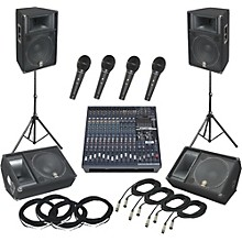 Yamaha EMX5016CF / S115V PA Package with Monitors