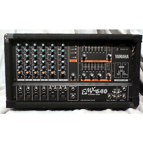 Used Yamaha Emx640 Powered Mixer Guitar Center