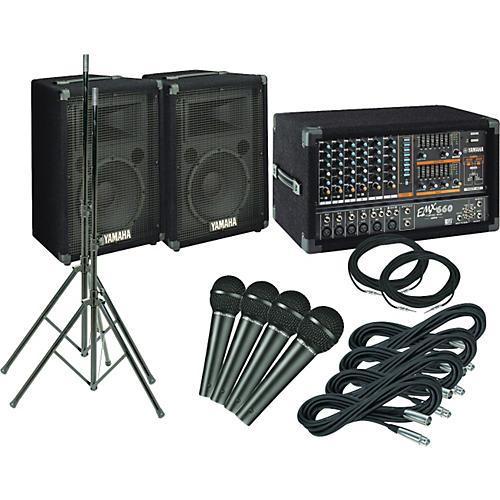 Yamaha EMX660 PA Package