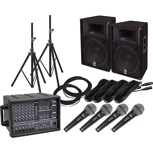 Yamaha EMX66M/S115V PA Package