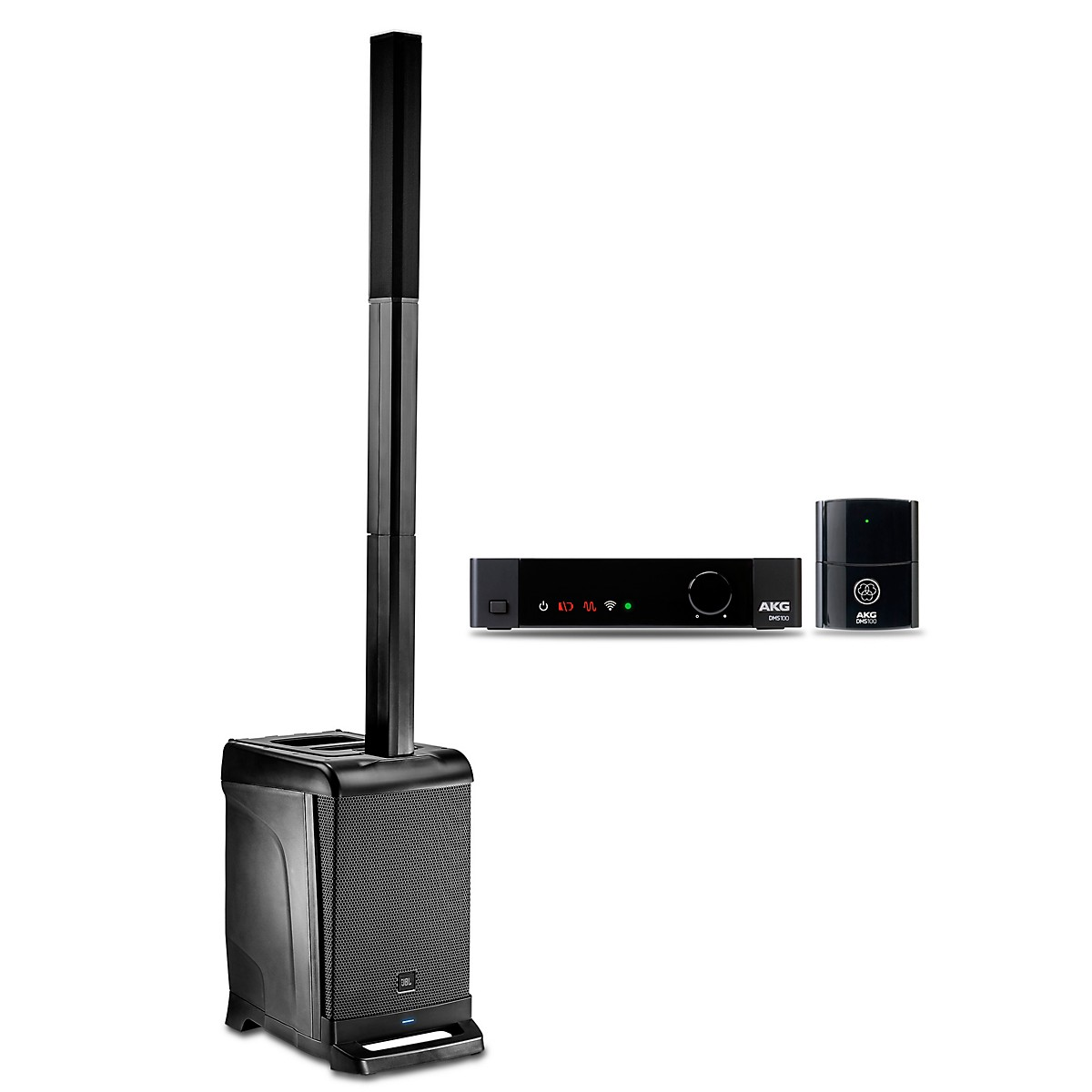 JBL EON ONE PA Package with DMS100 Wireless Instrument Mic Set