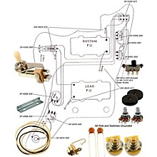 Allparts EP-4135-000 Wiring Kit for Jazzmaster