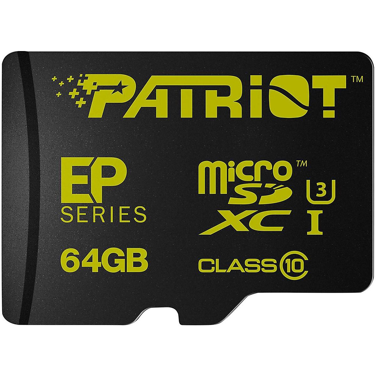 Patriot EP 64GB Series Flash microSDXC Class 10
