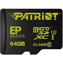 Patriot EP 64GB Series Flash microSDXC Class 10