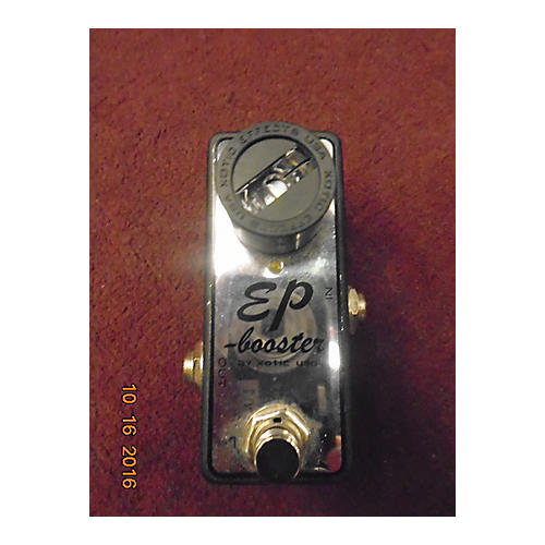 Xotic EP Booster Limited Edition Chrome Effect Pedal