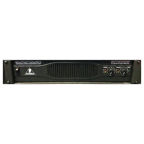 Behringer EP2000 Power Amp