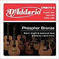 D'Addario EPBB170-5 Phosphor Bronze, Long-Scale, 5-String Acoustic Bass Guitar Strings thumbnail