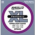 D'Addario EPS520 ProSteels Super Light Electric Guitar Strings thumbnail