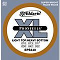D'Addario EPS540 ProSteels Light Top/Heavy Bottom Electric Guitar Strings thumbnail