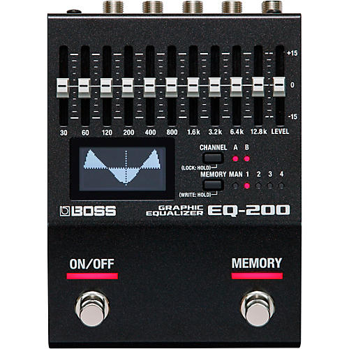 Boss EQ-200 Equalization Effects Pedal