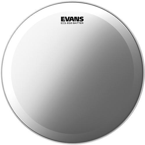 evans eq3 frosted bass drum head guitar center. Black Bedroom Furniture Sets. Home Design Ideas