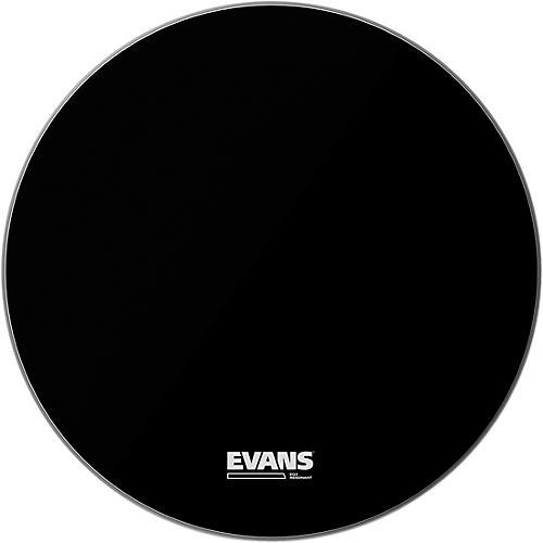 Evans EQ3 Resonant Black Tom Drumhead for Floor Tom Conversion