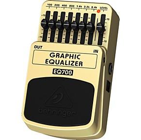 behringer eq700 graphic equalizer 7 band eq pedal guitar center. Black Bedroom Furniture Sets. Home Design Ideas