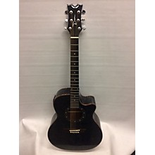 Dean EQA TBK Acoustic Electric Guitar