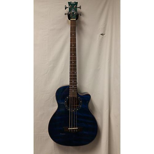 Dean EQABA Exotic Acoustic Bass Guitar