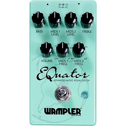 Wampler EQuator EQ Effects Pedal