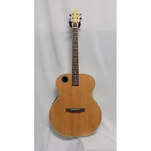 Boulder Creek ERJ7N Acoustic Electric Guitar