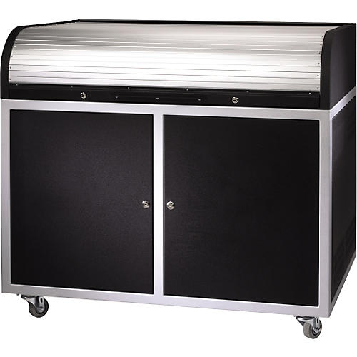 Raxxess ERT-ST Steel Roll Top Desk