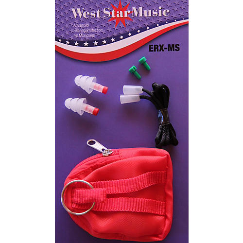 WestStar ERX-MS Earplugs In Soft Case With Cord