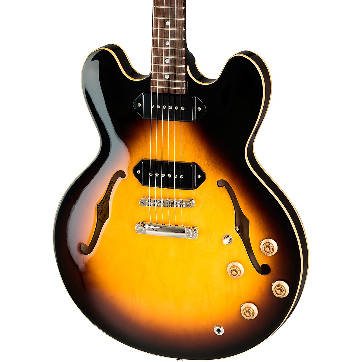 Gibson ES-335 P-90 Semi-Hollow Electric Guitar