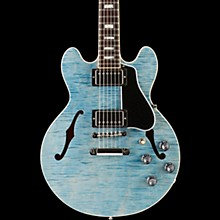 Gibson ES-339 Figured 2017 Limited Edition Semi-Hollowbody Electric Guitar Denim 5-ply Black Pickguard
