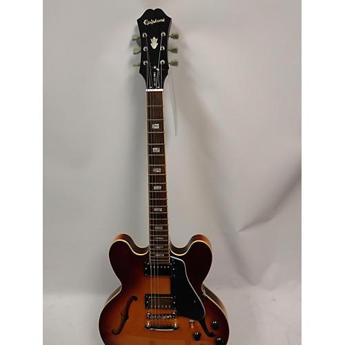 used epiphone es335 pro hollow body electric guitar sunburst guitar center. Black Bedroom Furniture Sets. Home Design Ideas