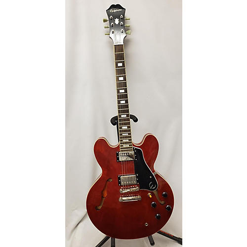 used epiphone es335 pro hollow body electric guitar heritage cherry guitar center. Black Bedroom Furniture Sets. Home Design Ideas