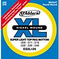 D'Addario ESXL125 Double Ball End Light/Electric Guitar Strings thumbnail
