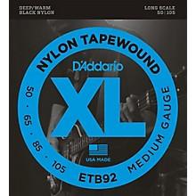 D'Addario ETB92 Nylon Tapewound Medium Gauge Bass Strings