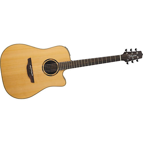 Takamine ETN10C Dreadnought Acoustic-Electric Guitar With Case