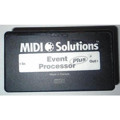 MIDI Solutions EVENT PROCESSOR MIDI Utility