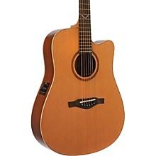EKO EVO Series Dreadnought Acoustic-Electric Guitar Level 1 Natural