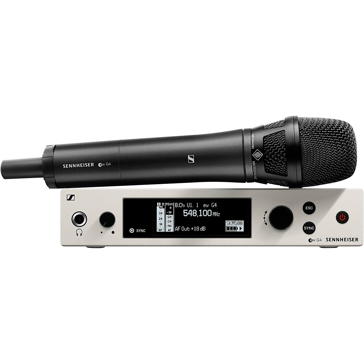 Sennheiser EW 500 G4 Handheld Wireless System with Neumann KK205 Capsule