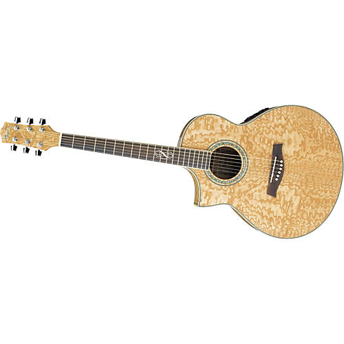 Ibanez Ew20as Left Handed Exotic Wood Acoustic Electric