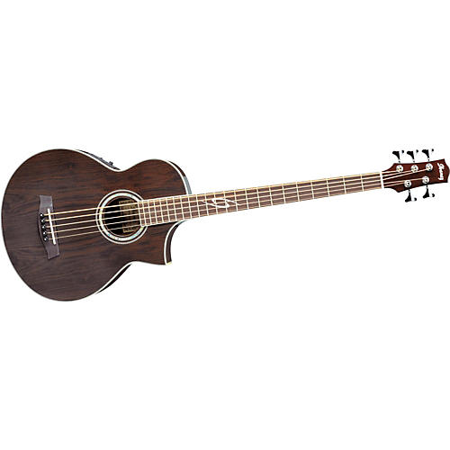 Ibanez EWB205WNE Exotic Woods 5-String Acoustic-Electric Bass